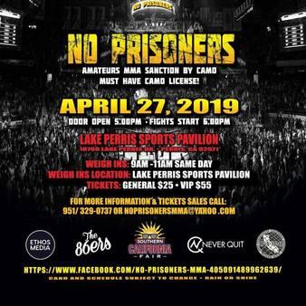 No Prisoners MMA 3