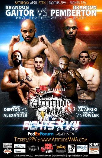Attitude MMA Fights 17