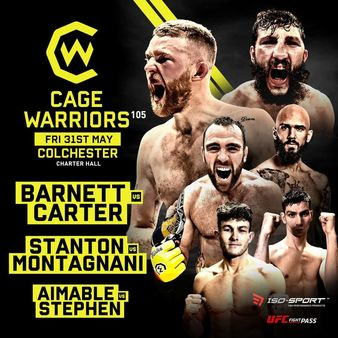 Cage Warriors 105