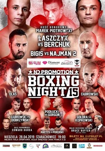 Boxing Night 15