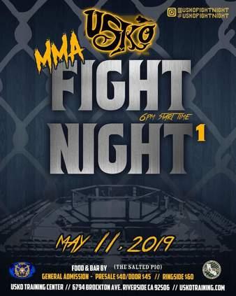 USKO Fight Night 1