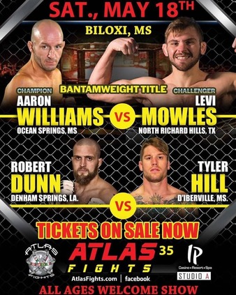 Aaron Williams vs  Levi Mowles, Atlas Fights 35 | MMA Bout