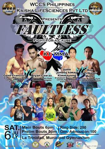 Faultless | MMA & Kickboxing Event | Tapology