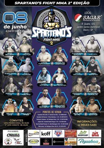 Spartano's Fight MMA 2