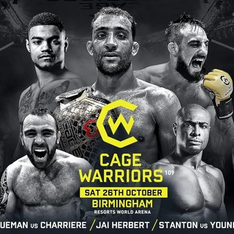 Cage Warriors 109