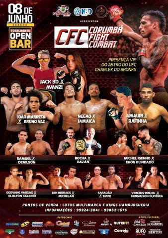 Corumbá Fight Combat 6