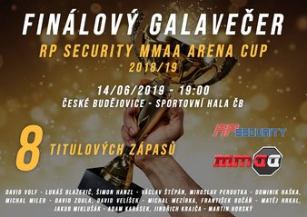 RP Security MMAA Arena Cup 2018/19