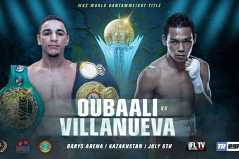 Oubaali vs. Villanueva
