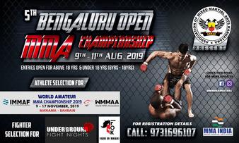 5th Bengaluru Open MMA Championship 2019