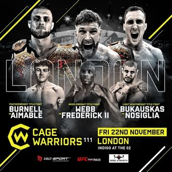 Cage Warriors 111