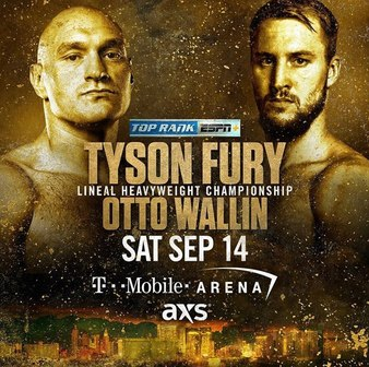 Fury vs. Wallin