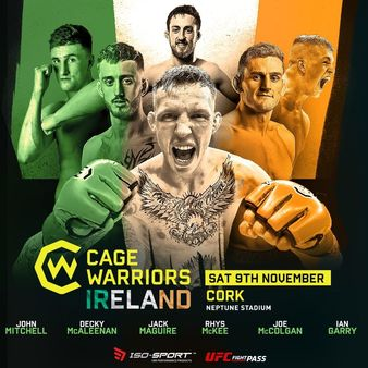 Cage Warriors 110
