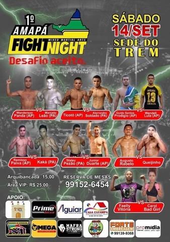 Amapá Fight Night 1