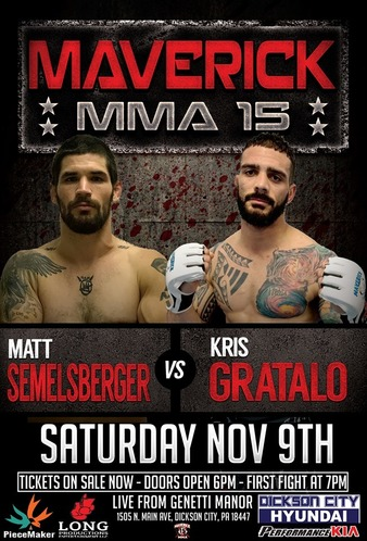 Maverick MMA 15