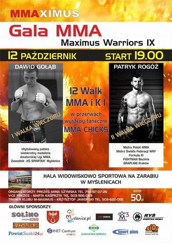 Maximus Warriors 9