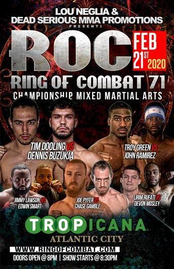 Ring of Combat 71