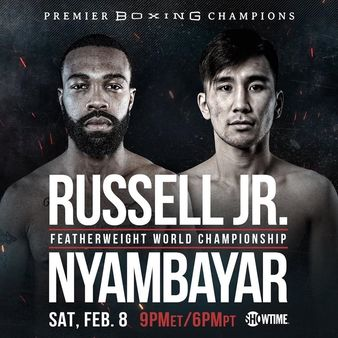 Russell Jr. vs. Nyambayar