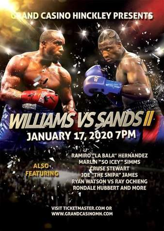 Williams vs. Sands 2
