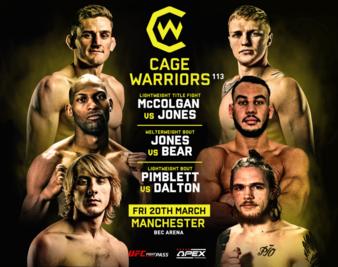 Cage Warriors 113