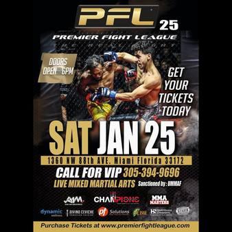 Premier Fight League 25