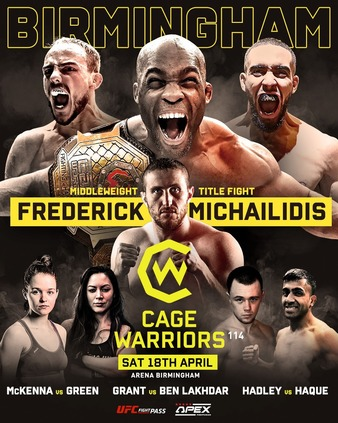 Cage Warriors 114 (cancelled)