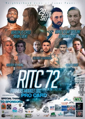 Rage In The Cage OKC 72