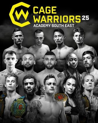 Cage Warriors Academy South East 25