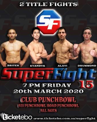 Superfight MMA 15