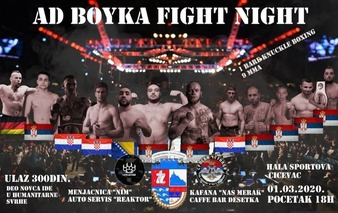 Ad Boyka Fight Night