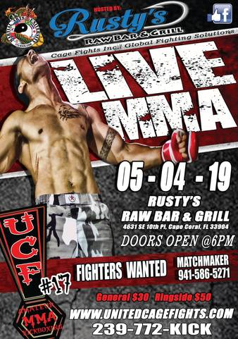 United Cage Fights 17