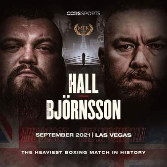 Bjornsson vs. Hall