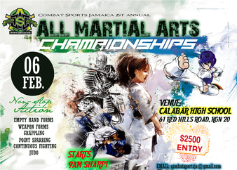 CSJA 1st All Martial Arts Championships