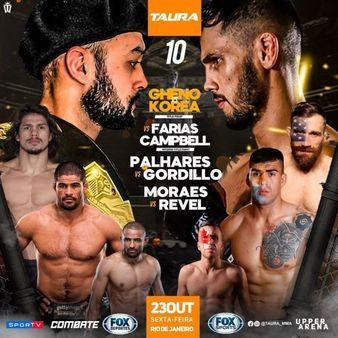 Taura MMA 10