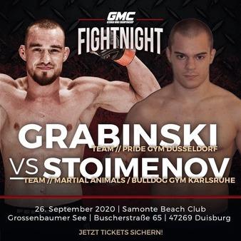 GMC Fight Night – Grabinski Vs Stoimenov