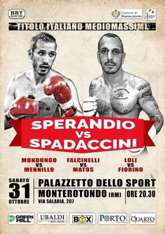 Sperandio vs. Spadaccini