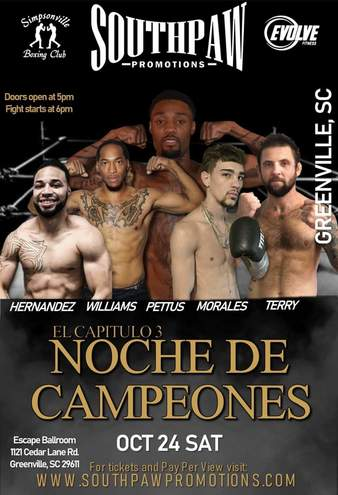Noches des Campeones 3