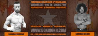 Thanksgiving Eve Boxing Spectacular III