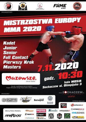 Mistrzostwa Europy MMA 2020