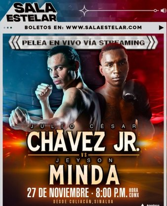 Chavez Jr vs. Minda