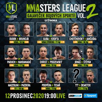 MMAsters League vol. 2
