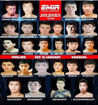 Emir Fighting Championship & Jolbors Team
