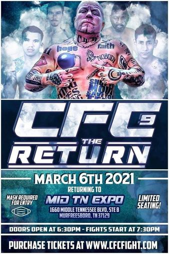 Johnathan Ivey's Cage Fighting Championships 9