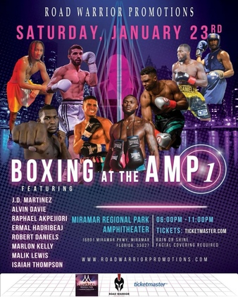 Boxing at the Amp