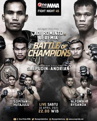 One Pride MMA Fight Night 45