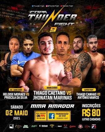 Copa Thunder Fight 9