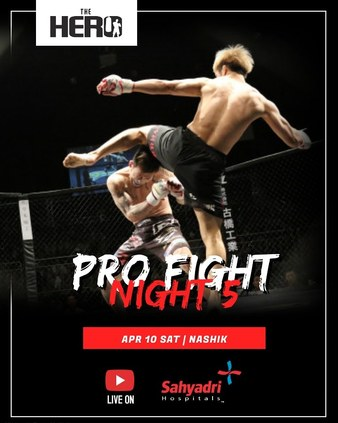 The Hero Pro Fight Night 5