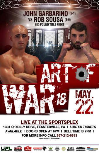 Art of War Cage Fighting 18