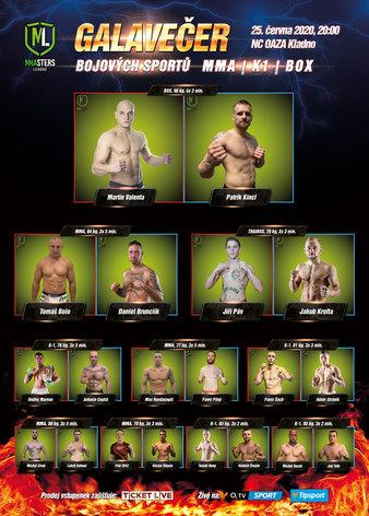 MMAsters League vol. 1