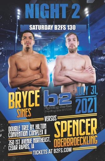B2 Fighting Series: Iowa