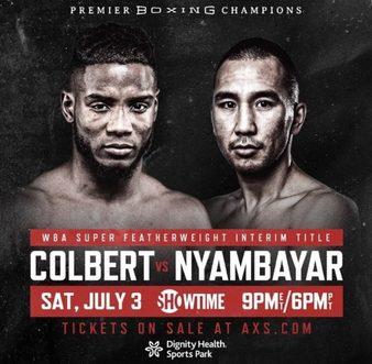 Colbert vs. Nyambayar